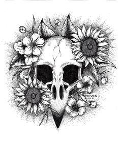 """Art by Devon """"Raven"""""""