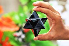 Merkaba Star Sun Stone Natural for Metaphysical Energy Healing Meditation