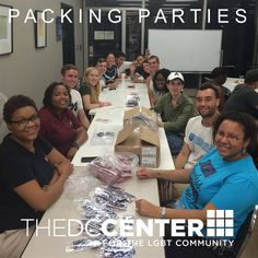Volunteer @thedccenter for our October 4th and October 18th Packing Parties! http://tinyurl.com/octoberpacking #FindYourCenterDC