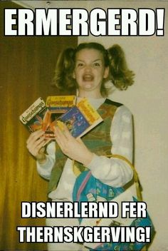 Hahaha! Disney for Thanksgiving!!!