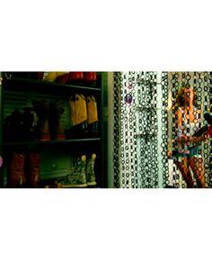 Nicola Peltz (as Tessa) in Transformers 4 movie: Shoe Closet