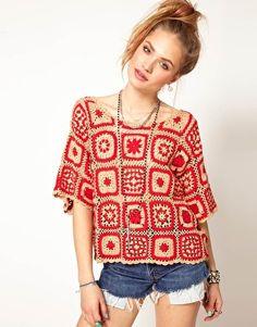Top in Crochet