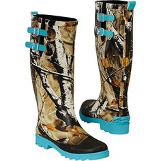 Legendary Whitetails Women's Big Game Camo Storm Chaser Rain Boots Glacier 7 Heavy duty lugged soles Pair of functional buckle straps Exclusive Legendary® design Features Big Game® Camo Imported Camo Boots, Muck Boots, Hunting Boots, Hunting Clothes, Cowgirl Boots, Shoe Boots, Shoe Bag, Women's Boots, Hunting Camo