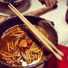 Homemade miso ramen: soooo yummy!