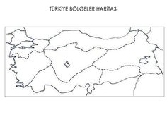 Turkiye Dilsiz Harita Seti2 Sosbil Pinterest