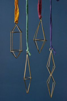 Geometric brass wire