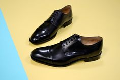 Mens Derby Shoes Fashion Floral Full Leather Lace Up Formelle Formal Business Shoes Pointed Toe Shiny Flat Dress Shoes