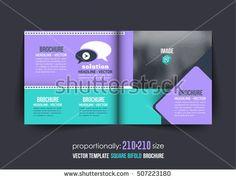 Mulipurpose BiFold A Brochure Corporate Leaflet Cover Design