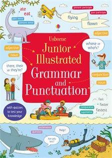 Junior illustrated grammar and punctuation  €14,50  https://www.facebook.com/Exuberantideia-English-Books-533612490127885/