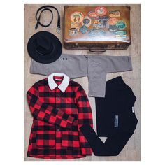 WOODSMAN OUTFIT ! #ADV #art #AI15 #amazing #advcampaign #Berna #bernaitalia #bestoftheday #fashion #happy #look #nofilter #ootd #outfit #photo #picoftheday #style #styles #top #Wood #caps #bag #trousers #jacket #red #black #man #boy Trousers, Boys, Instagram Posts, Red, Jackets, Outfits, Black, Style, Fashion