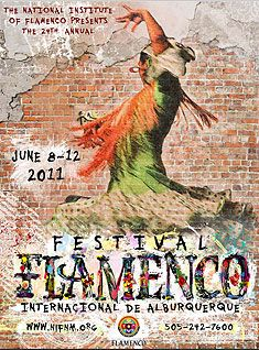 Young flamenco dancing is showcased at the 2011 Alburquerque Flamenco Festival