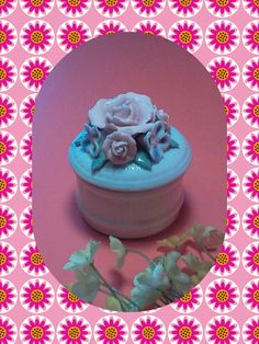 Check out this item in my Etsy shop https://www.etsy.com/listing/254513308/jewelry-box-ring-dish-pink-rose