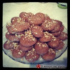 Μελομακάρονα  Greek Christmas sweet with honey