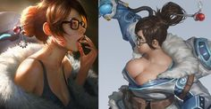 The Most Soft n' Squishy (n' Thirsty) Mei Fanart Ever Made #collegehumor #lol