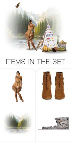 """Pocahontas #2"" by chileez ❤ liked on Polyvore featuring art"