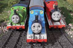 Thomas, Percy & James or as Cruz says Pamas, Puuurcy, and Hames <3