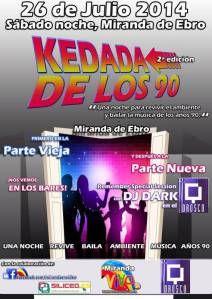 kedada en Miranda de Ebro de los 90