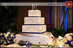 Pretty, sparkly, fairy-dusted Disney wedding cake!