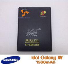 Baterai idol double power samsung galaxy W i8150