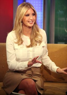 Ivanka Trump is one of our inspirations, She builds her brands with style and class!