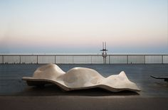 Lungo Mare Bench - Site Furniture - Landscape Forms