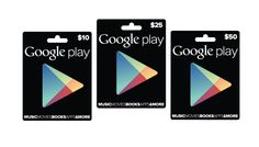 Google Play Store Gift Cards Finally Coming