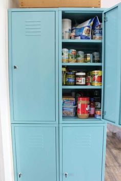 Creating A Pantry When You Don't Have One