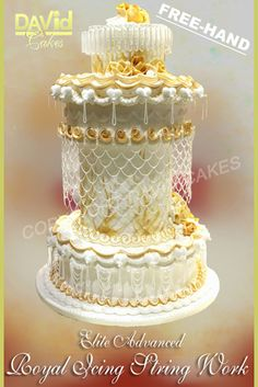 You Have To See Rococo Wedding Cake On Craftsy