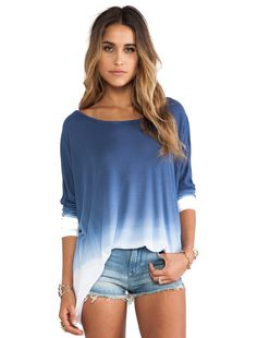 Saint Grace Omega Oversized Top in Blue from Revolve Clothing . Saved to Summer Lovin'