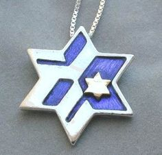 Unique among Judaica stores, designer collection of Jewish Jewelry and judaica gifts. Silver and gold Star of David necklaces.