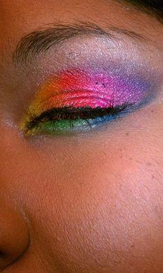 Smokey Rainbow Eyes