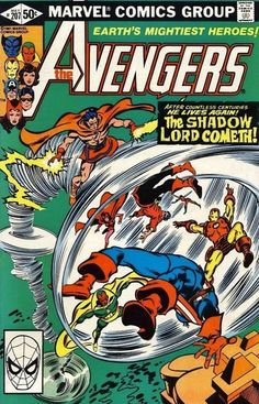 The Avengers #207 - Beyond A Shadow...