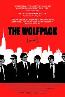 The Wolfpack (2015) Locked away from society in an apartment on the Lower East Side of Manhattan, the Angulo brothers learn about the outside world through the films that they watch. Nicknamed, 'The Wolfpack,' the brothers spend their childhood reenacting their favorite films using elaborate homemade props and costumes. Their world is shaken up when one of the brothers escapes and everything changes.
