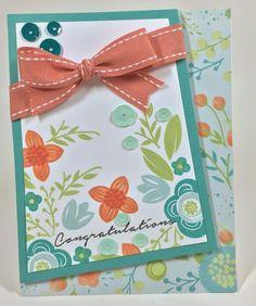 CTMH Blossom - Congratulations card #CTMH #cards #blossom