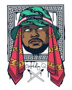Arte Cool música hip hop rap narcótico droga projeto fresco Gangsta rapper Vector BOOM colegial q tde Homem do Ano bokkaboom Oxymoron bokka boom bokka boccaccio