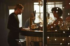 "Jace and Maia - Still of episode 2x03 ""Parabatai Lost"" #Shadowhunters"
