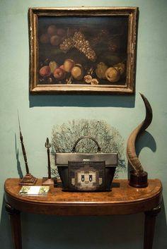 Azzurra Gronchi fall/winter 17-18 collection presentation at Suite della Tigre