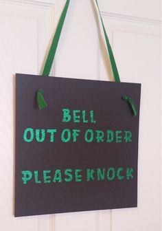 Hey, I found this really awesome Etsy listing at https://www.etsy.com/listing/245606589/wizard-of-oz-party-sign-bell-out-of
