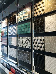 Have fun with colour and pattern in your next renovation - Perini Tiles Showroom. - Have fun with colour and pattern in your next renovation – Perini Tiles Showroom, Richmond.