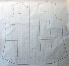 Technique | A few simple adjustments, to transform a standard shirt pattern into a stylish tunic pattern.