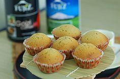Eierlikör-Muffins mit Schokoraspeln