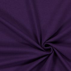 Cotton Jersey Medium 14 - Cotton - Spandex - aubergine 4-way stretch