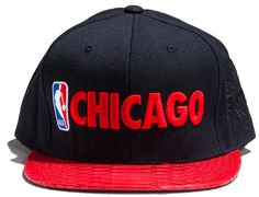 Python Chicago City Pack Strapback Cap by JUST DON