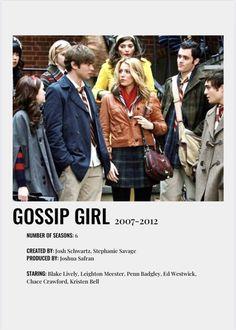 gossip girl poster Iconic Movie Posters, Minimal Movie Posters, Iconic Movies, Gossip Girl, Film Poster Design, Poster Art, Film Logo, Film Movie, Series Poster