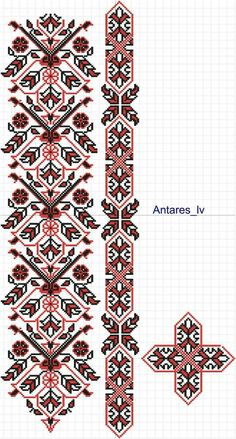 Cristina Stanciu's media statistics and analytics Flower Embroidery Designs, Hand Embroidery Stitches, Diy Embroidery, Cross Stitch Embroidery, Machine Embroidery Designs, Cross Stitch Borders, Counted Cross Stitch Patterns, Cross Stitch Designs, Cross Stitching