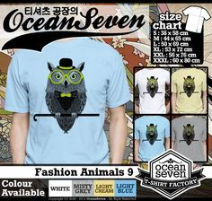 Kaos Binatang | Kaos Motif Binatang | Fashion Animals 1