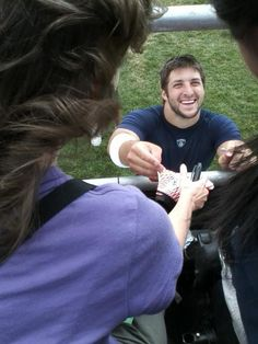 Tim Tebow and fans