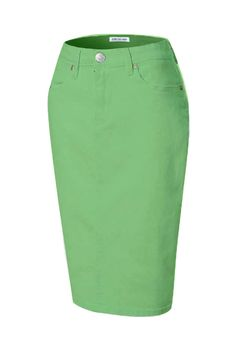 ddc4d88f8ccc Add a splash of color to your wardrobe with our best-selling color skirts! Jupe  de Abby