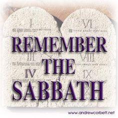 The Commandment of Shabbat.