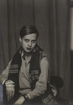 Got a Girl Crush On: This stylish gal from 1928! (shot my Man Ray)  Her steez still holds fresh.  (via bremser)